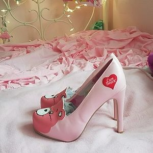 Baby PinkCare Bears pumps